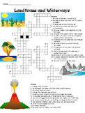 Land forms & Waterways Crossword puzzle