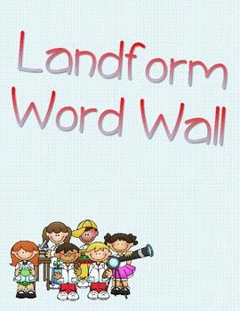 Landform Word Wall