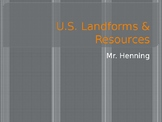 Land-forms and Resources