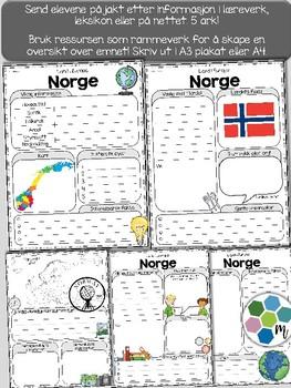 Land i Europa - Norge [Utforskingsopplegg] [BM&NN]