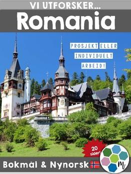 Land i Europa - Romania [Utforskingsopplegg] [BM&NN]