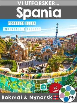 Land i Europa - Spania [Utforskingsopplegg] [BM&NN]
