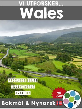 Land i Europa - Wales [Utforskingsopplegg] [BM&NN]