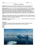 Land ice vs. sea ice lab.