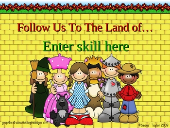 Land of Oz PowerPoint Game Template