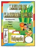 Land of Oz Theme Classroom Decor