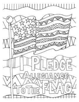 Land of the Free DESIGN Coloring Page