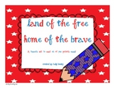 Land of the Free, Home of the Brave-A Patriotic Thematic Unit