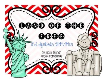 Land of the Free- U.S. Symbols Activities