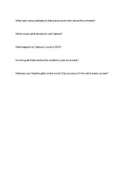 Landfill Harmonic Movie Questions