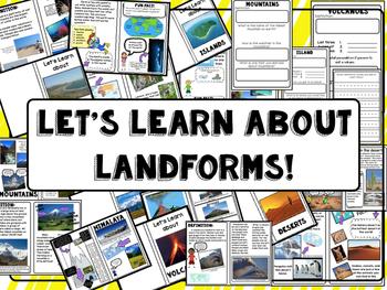 Landform nonfiction booklets!