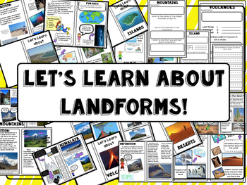 Landform nonfiction booklets!