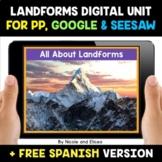 Landform Digital Activities for Google and Seesaw - Distan