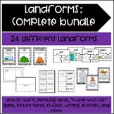 Landform Activity Bundle