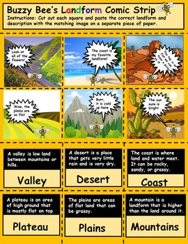 Landform Activity: Information in the picture, text, or both?