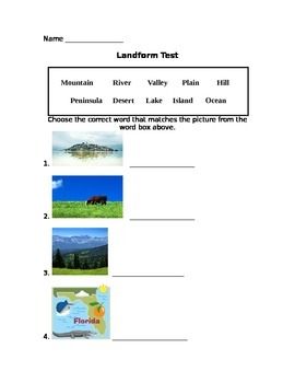Landform Assessment