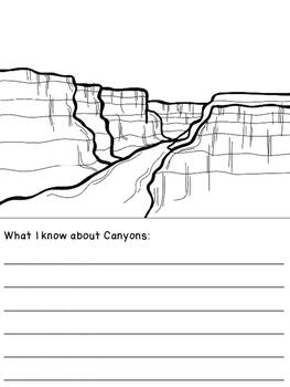 Landforms Informational Booklet