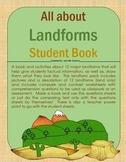Landforms Book and Worksheets (land only)