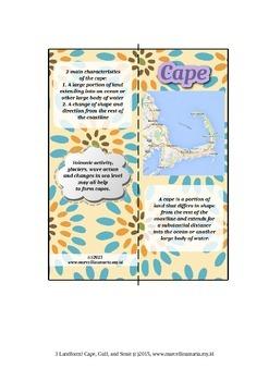 Landform! Cape, Gulf, And Strait