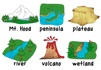 landform clipart by teacher laura teachers pay teachers rh teacherspayteachers com delta landform clipart plain landform clipart