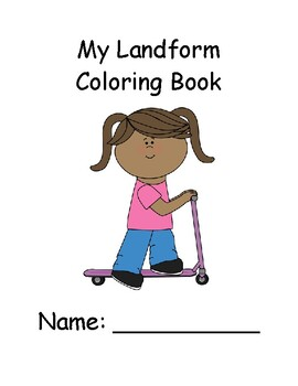 Landform Coloring Book