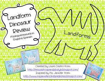 Landform Dinosaur Review in English or Spanish