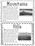 Landform Fact Booklet