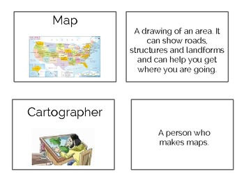 Landform Flashcards with Pictures