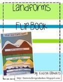 Landform Flip Book Activity