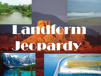 Landform Jeopardy