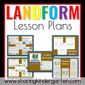 Landform Lesson Plans Teaching Resources Teachers Pay Teachers