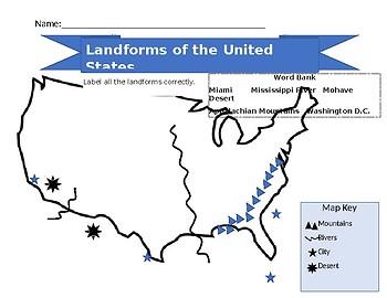 Landform Maps