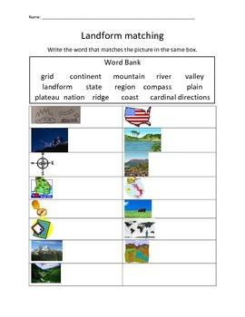 Landform Matching