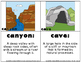 Landform Matching Activity Cards