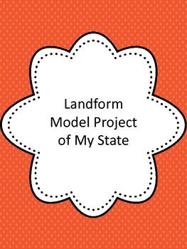 Landform Model Project of State