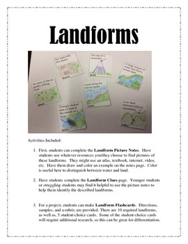 Landform Packet