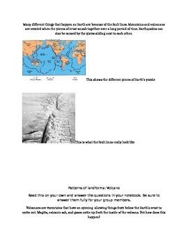 Landform Patterns Jigsaw Group Reading