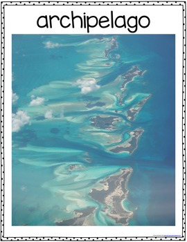 Landform Poster Pack and Activities Unit