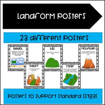 Landform Posters