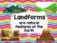 Landform Posters and Flipbook