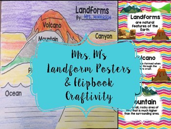 Landform Posters and Flipbook