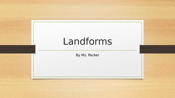 Landform Power Point