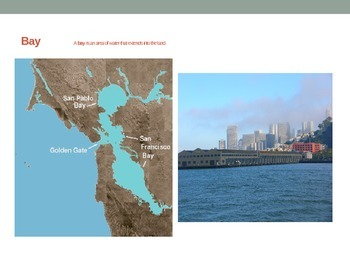 Landform PowerPoint: Pictures and Definitions
