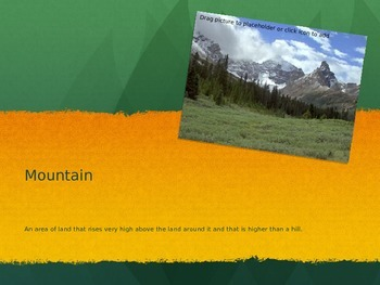 Landform PowerPoint - Real World Pictures!