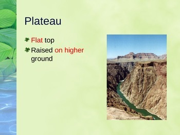 Landform Powerpoint