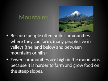 Landform Powerpoint (Land and Water)