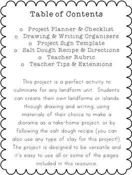 Make Your Own Landform Project