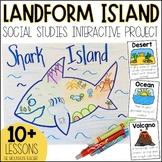 Landform Project   Landform Island