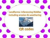 Landform QR code inferencing riddles (2-4) Common Core