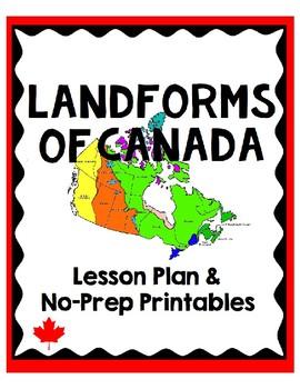 Landform Regions of Canada Lesson